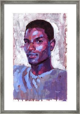 Blue Framed Print by Douglas Simonson