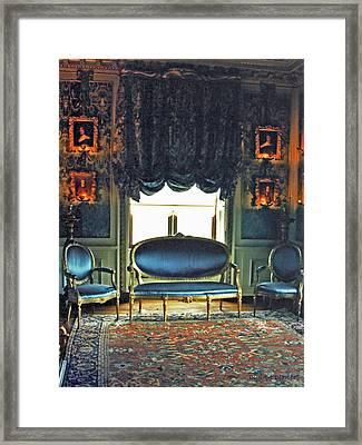 Blue Drawing Room Framed Print