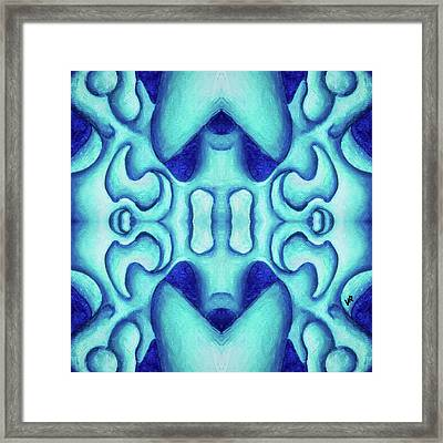 Blue Dream Framed Print by Versel Reid