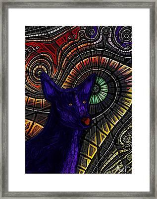 Blue Drifter Framed Print by Andrew Fitt