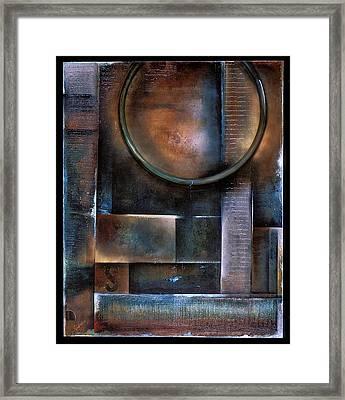Blue Drop Framed Print by Stephen Schubert