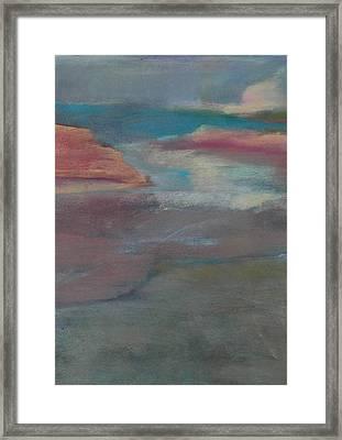 Blue Dune Framed Print