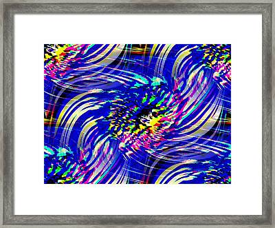 Blue Eddy Framed Print by Tim Allen