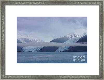 Blue Escape In Alaska Framed Print