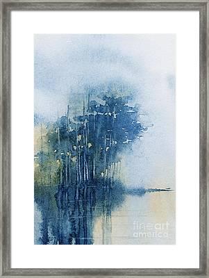 Blue Evening Framed Print