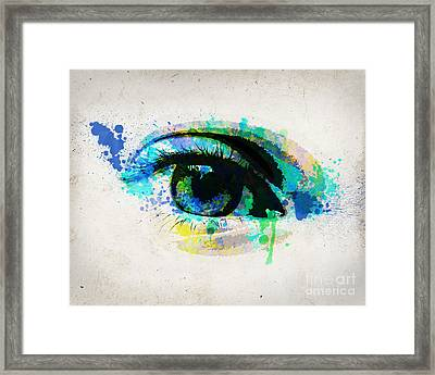 Blue Eye 8x10 Framed Print