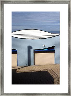 Blue Eye Framed Print by Jez C Self