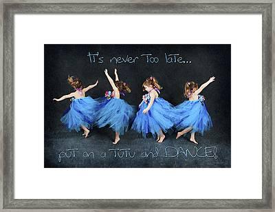 Blue Fairy Framed Print