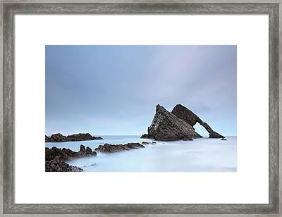 Blue Fiddle Framed Print