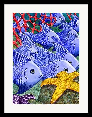 Coral Reefs Framed Prints