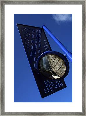 Blue For The Day Framed Print by Jez C Self