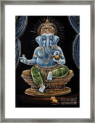 Shri Ganesha Framed Print by Tim Gainey