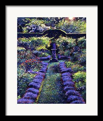 English Garden Framed Prints