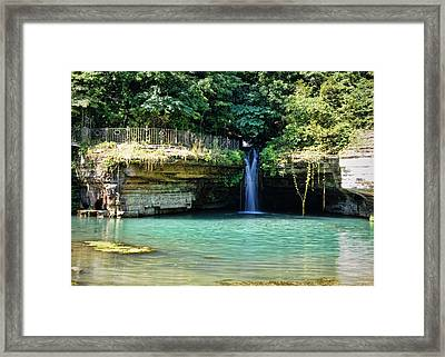 Framed Print featuring the photograph Blue Glory by Cricket Hackmann