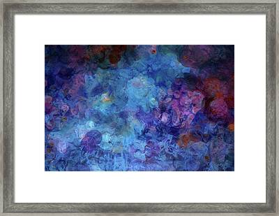 Blue Grotto Painting  Framed Print by Don Wright