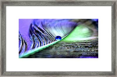 Blue Gypsy Framed Print by Krissy Katsimbras