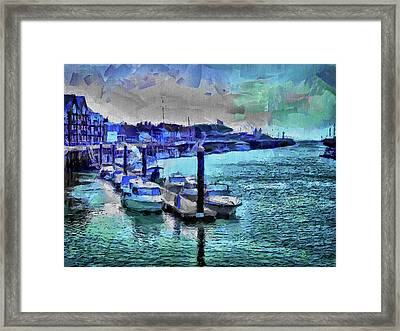 Blue Harbour Framed Print