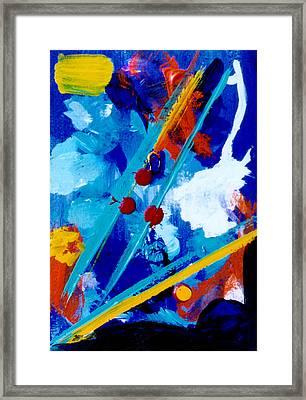 Blue Harmony  #128 Framed Print by Donald k Hall