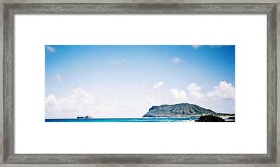 Blue Hawaii Framed Print by Judyann Matthews