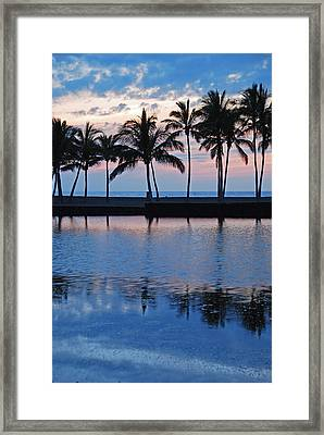 Blue Hawaiian Framed Print by Kelly Wade
