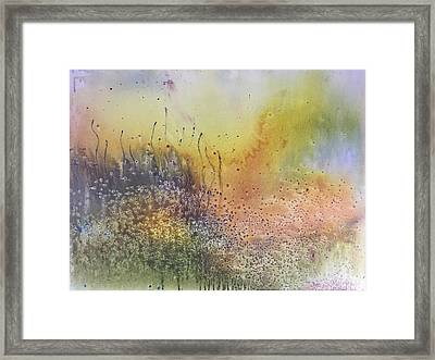Blue Haze Framed Print