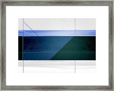 Blue Haze Framed Print