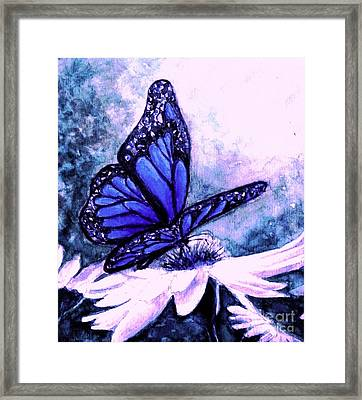 Blue Heaven Framed Print by Hazel Holland
