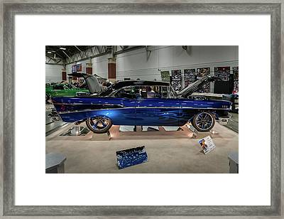 Framed Print featuring the photograph Blue Heaven by Randy Scherkenbach