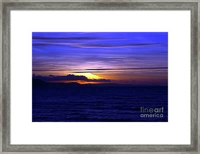 Blue Heaven  Framed Print by Baggieoldboy