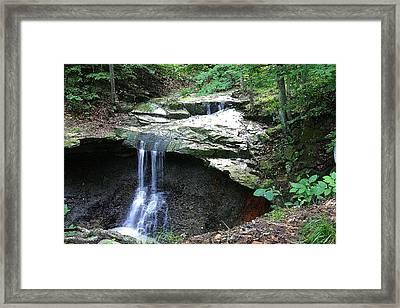 Blue Hen Falls Framed Print