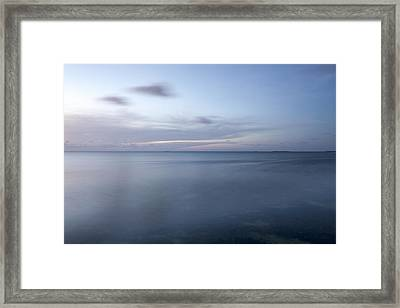 Blue Horizon Framed Print by Al Hurley