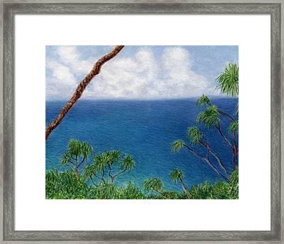 Blue Horizon Framed Print by Kenneth Grzesik