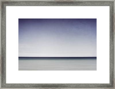 Blue Horizon Framed Print by Scott Norris
