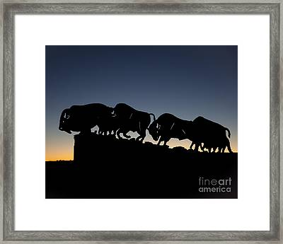 Blue Hour 16x20 Framed Print by Melany Sarafis