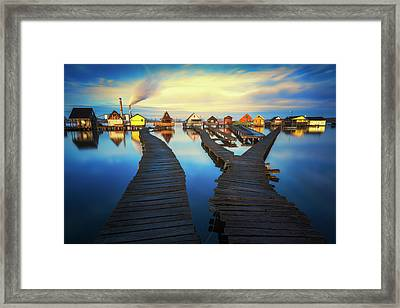Blue Hour Framed Print by Janek Sedlar