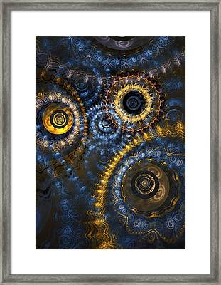 Blue Hour Framed Print by Martin Capek