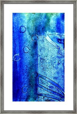 Blue Iv Framed Print