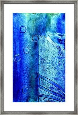 Blue Iv Framed Print by John  Nolan