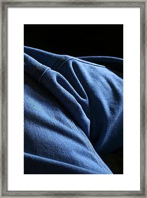 Blue Jeans 0261 Framed Print by Steve Augustin