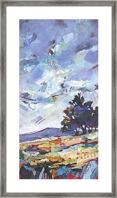 Blue Juniper Framed Print