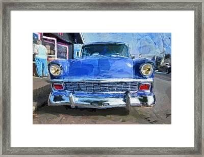 Blue Knight Framed Print