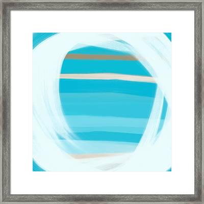 Blue Lagoon Framed Print by Frank Tschakert