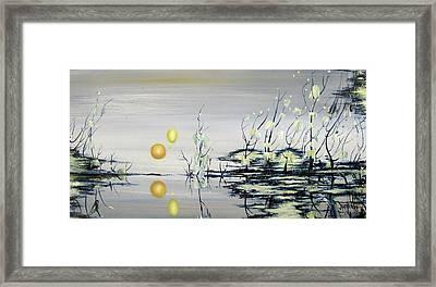 Blue Lagoon Framed Print by Judy Merrell