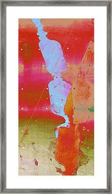 Blue Light Framed Print by Eileen Shahbazian