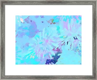 Blue Love Framed Print