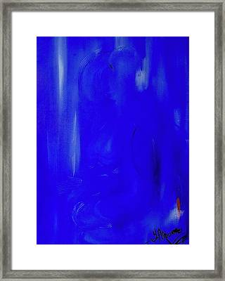 Blue Lust Framed Print