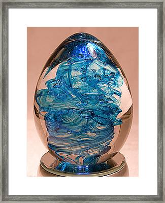 Blue Luster - Free Shipping Framed Print by David Patterson