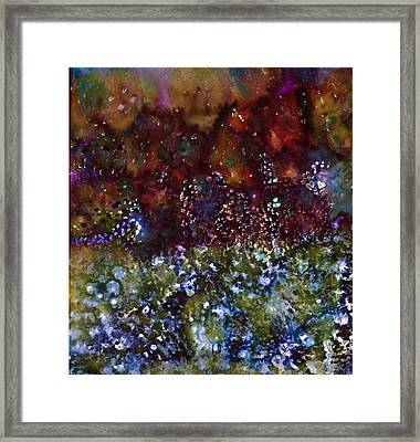 Blue Marmalade Framed Print