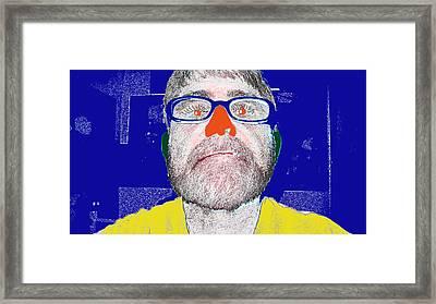 Blue Me Framed Print by Charlie Spear