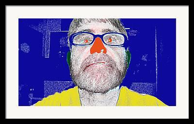 Self Interpretive Framed Prints